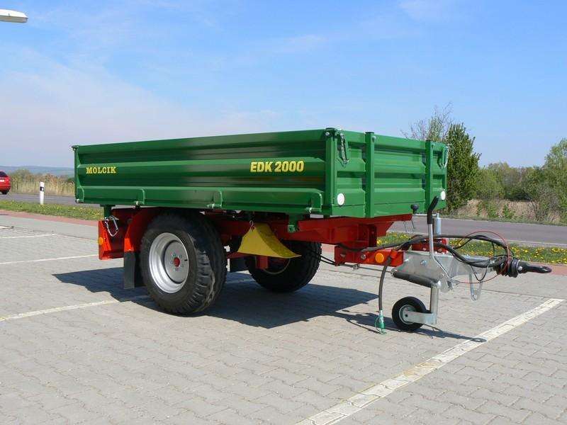 Remorca Molcik EDK 2000 | Agriculture Jurop Group
