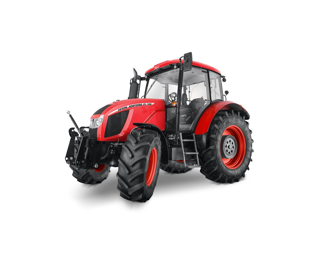 Zetor Forterra tractorul cu cel mai bun raport de cal-putere/litru din clasa sa
