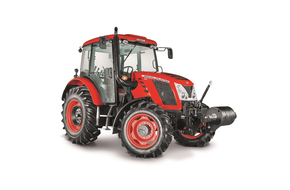 Zetor Proxima Plus 110 in Romania prin Agriculture & Jurop Group