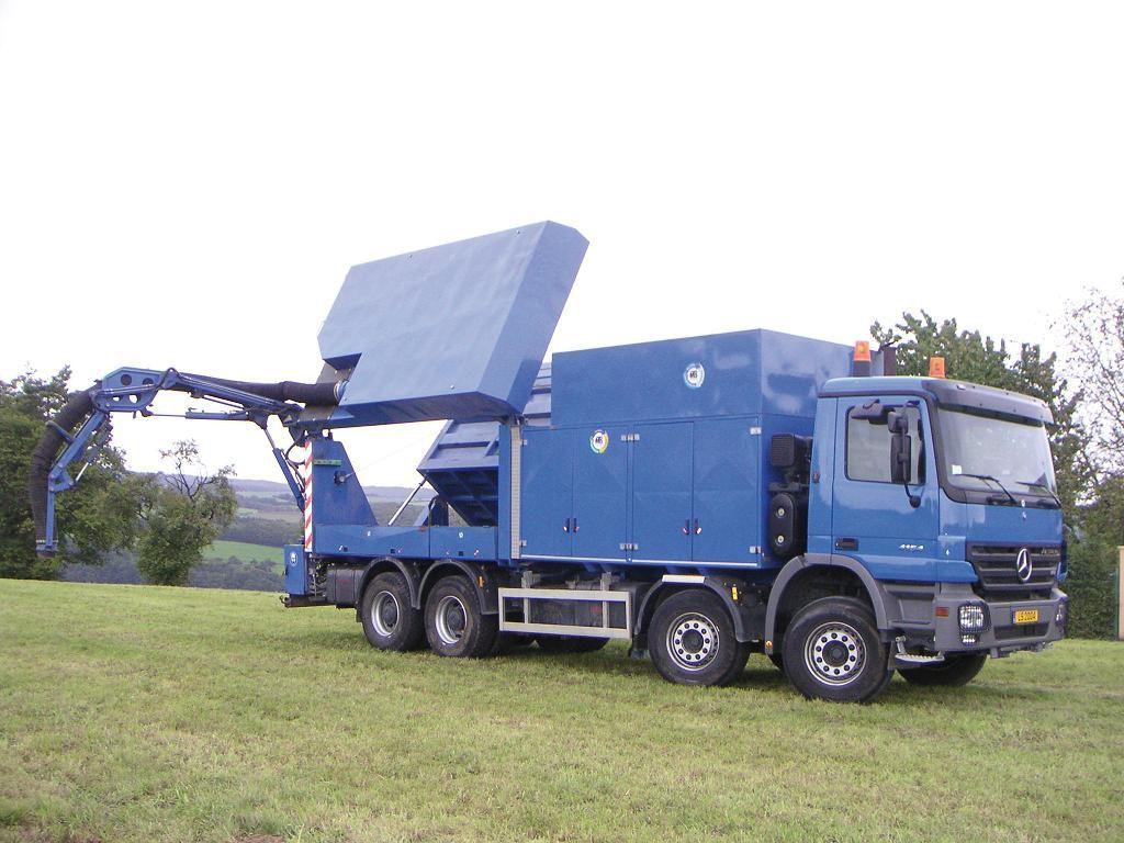 Aspirator excavator MTS Mega Vac