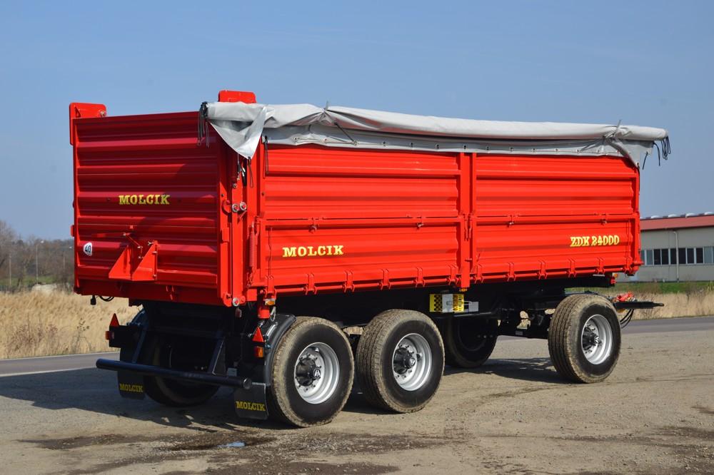 Remorca Molcik ZDK 24000 | Agriculture Jurop Group