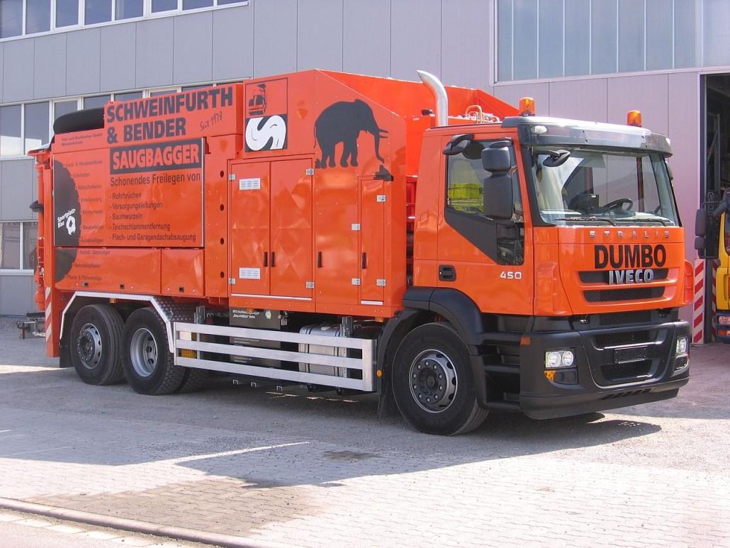 Aspirator excavator MTS Dino 3   Agriculture Jurop Group